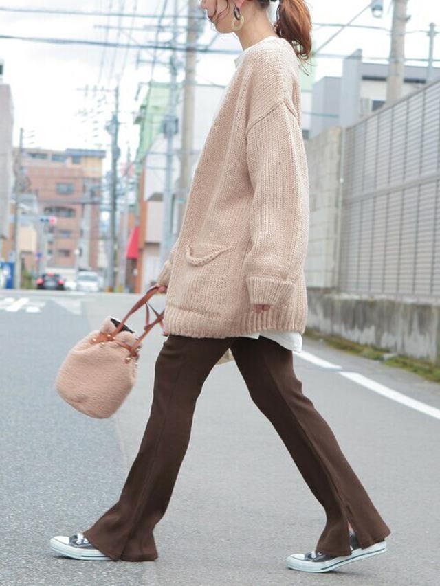 画像: 【reca】パンツ¥2,980(税込)カーディガン¥4,980(税込) 出典:WEAR