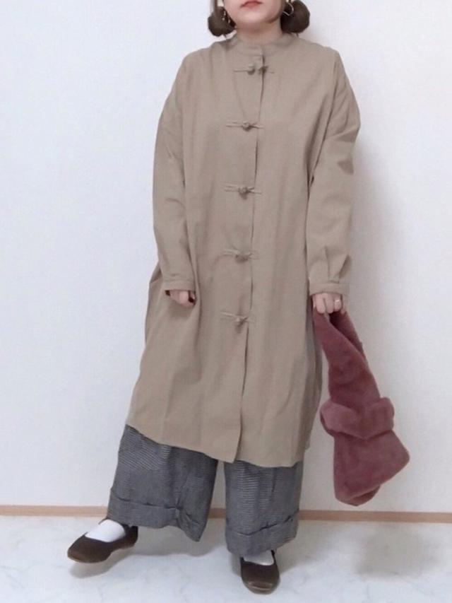 画像: 【sakishimatokyo】ノーカラージャケット¥6,490 (税込)【niko and...】パンツ¥6,600(税込)【しまむら】シューズ¥1,969(税込) 出典:WEAR