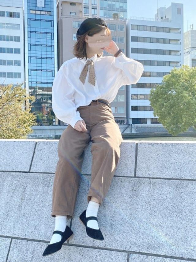画像: 【GU】パンツ平均価格¥1500~【H&M】シャツ¥2,499(税込)【WEGO】シューズ¥2,199(税込) 出典:WEAR
