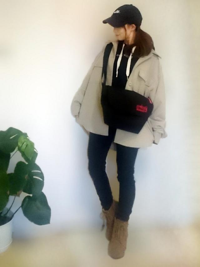 画像: 【GU】CPOジャケット ¥3,289(税込) 【Manhattan Portage】Embroidery Messenger Bag JR ¥10,120(税込) 【NIKE】フーチュラ ウォッシュド キャップ ¥2,750(税込) 出典:WEAR