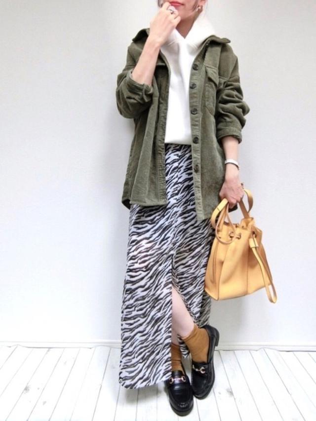 画像: 【しまむら】シャツ平均価格¥2,000〜【GU】スカート平均価格¥1,000〜【ZARA】バッグ平均価格¥2,000〜 出典:WEAR