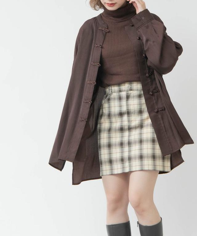 画像: 【ADOLESCENCE】スカート ¥1,995(税込) 出典:ZOZOTOWN