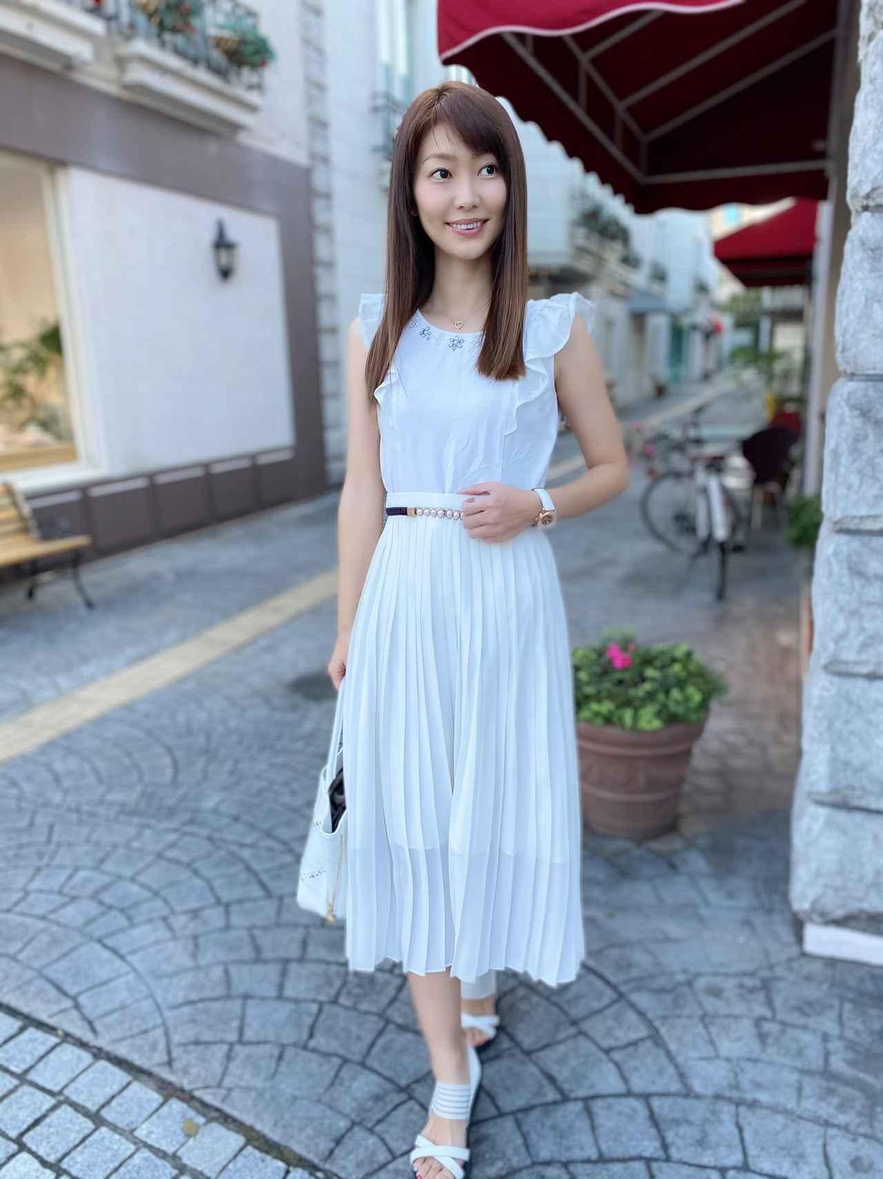 画像3: 【ユニクロ】えっ!まさかの990円?超高見え♡「プリーツスカート」でコーデしてみた