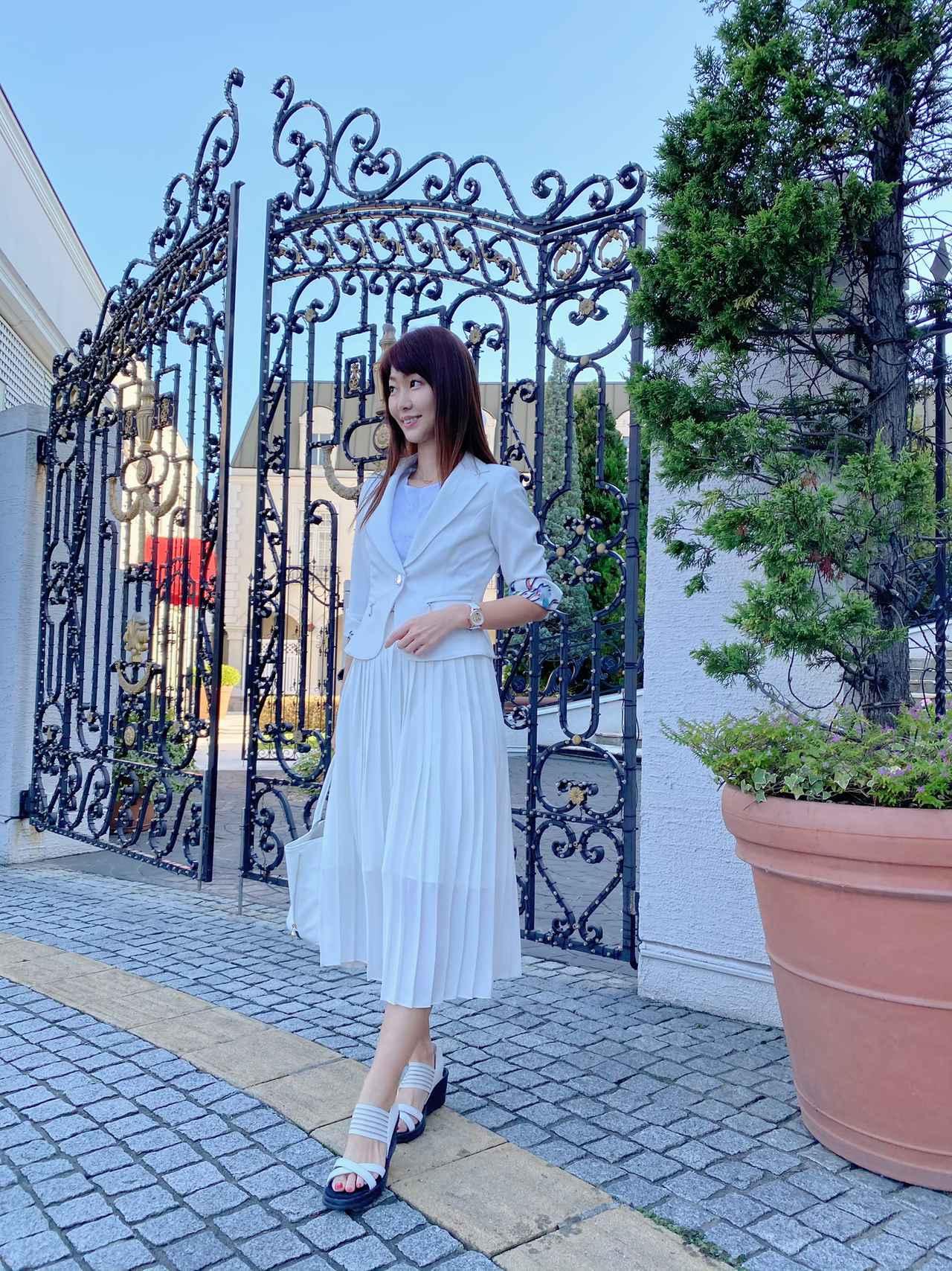 画像5: 【ユニクロ】えっ!まさかの990円?超高見え♡「プリーツスカート」でコーデしてみた