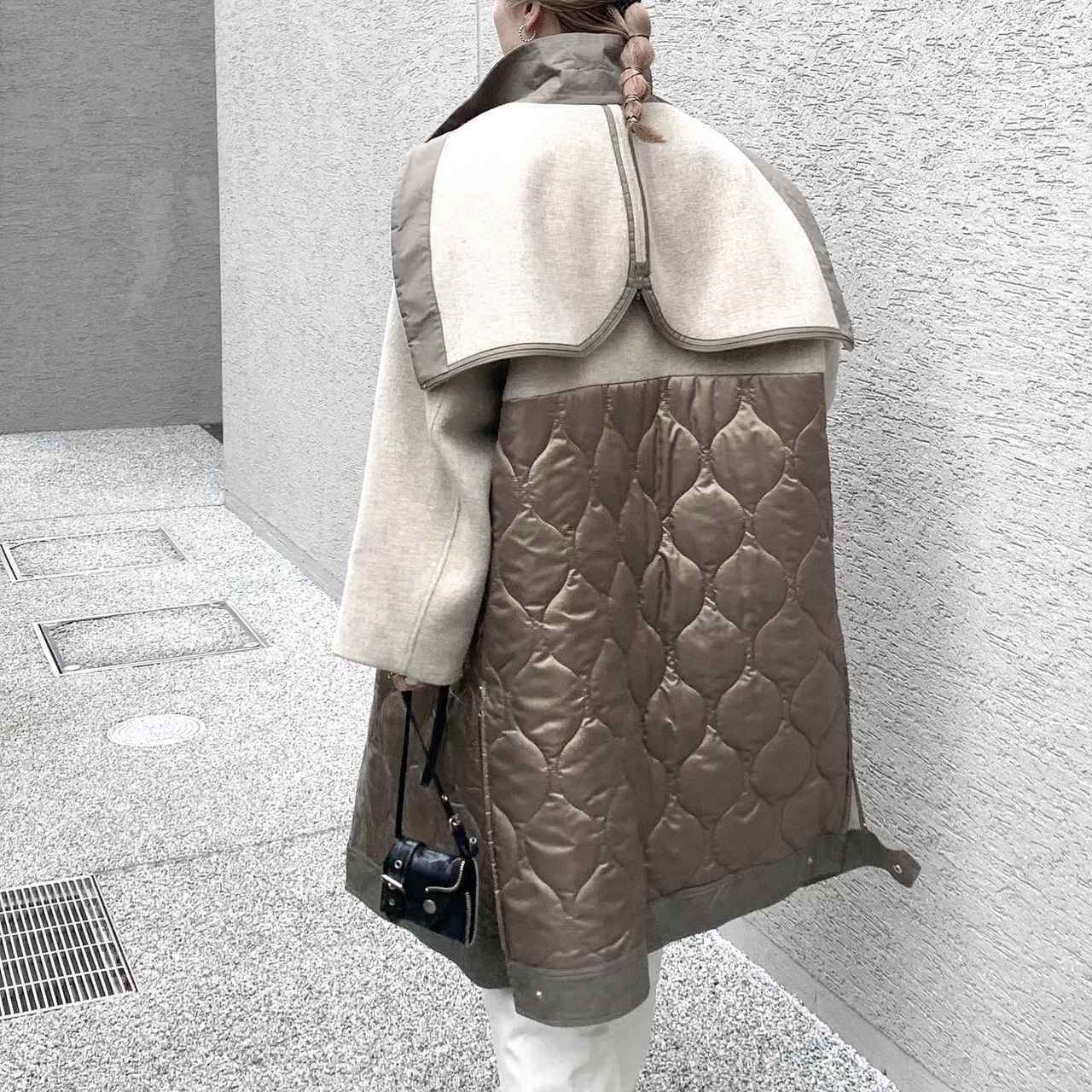 画像2: 【サスティナブル素材】 CASA FLINEのおすすめコート!