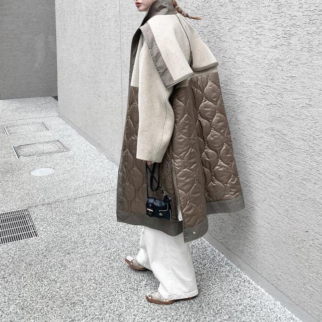 画像3: 【サスティナブル素材】 CASA FLINEのおすすめコート!