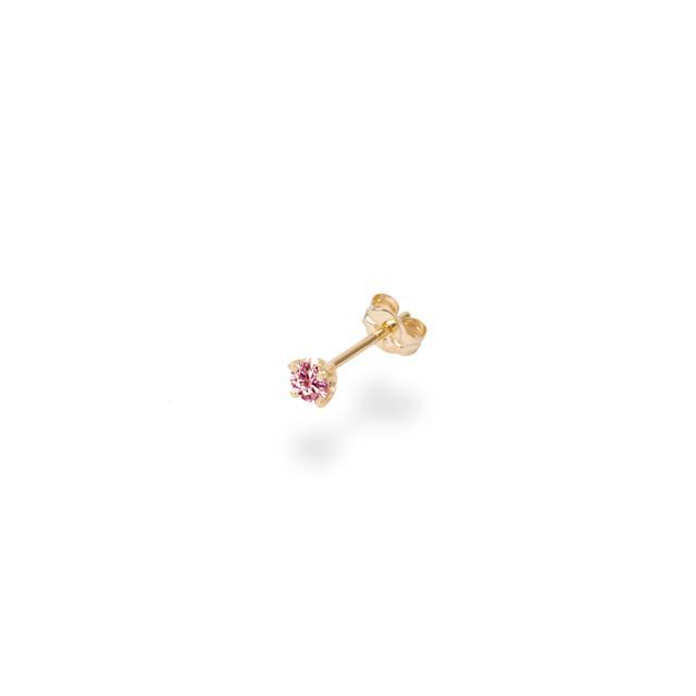 画像: 0.1CT SOLITAIRE PINK DIAMOND STUDS ¥50,000(税抜)