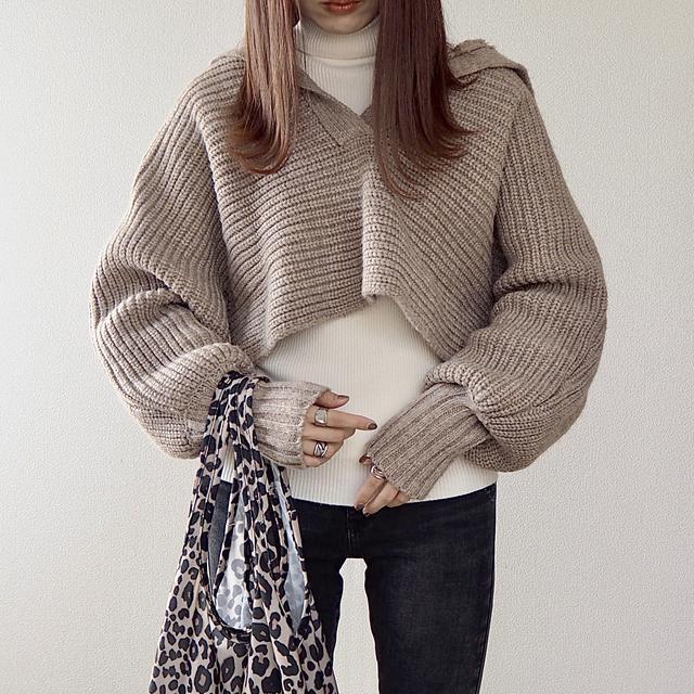 画像2: ついに【ZARA】デビュー!SNSでバズり中のセーターをGET。【コーデ】