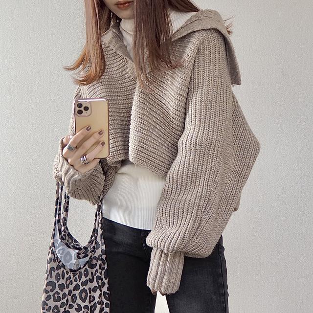 画像4: ついに【ZARA】デビュー!SNSでバズり中のセーターをGET。【コーデ】