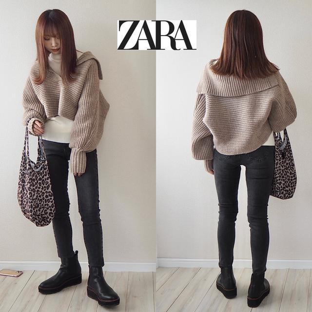 画像6: ついに【ZARA】デビュー!SNSでバズり中のセーターをGET。【コーデ】
