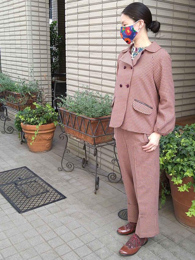 画像: 【Jocomomola】ジャケット¥27,280(税込)パンツ¥19,580(税込)シャツ¥17,380(税込) 出典:WEAR
