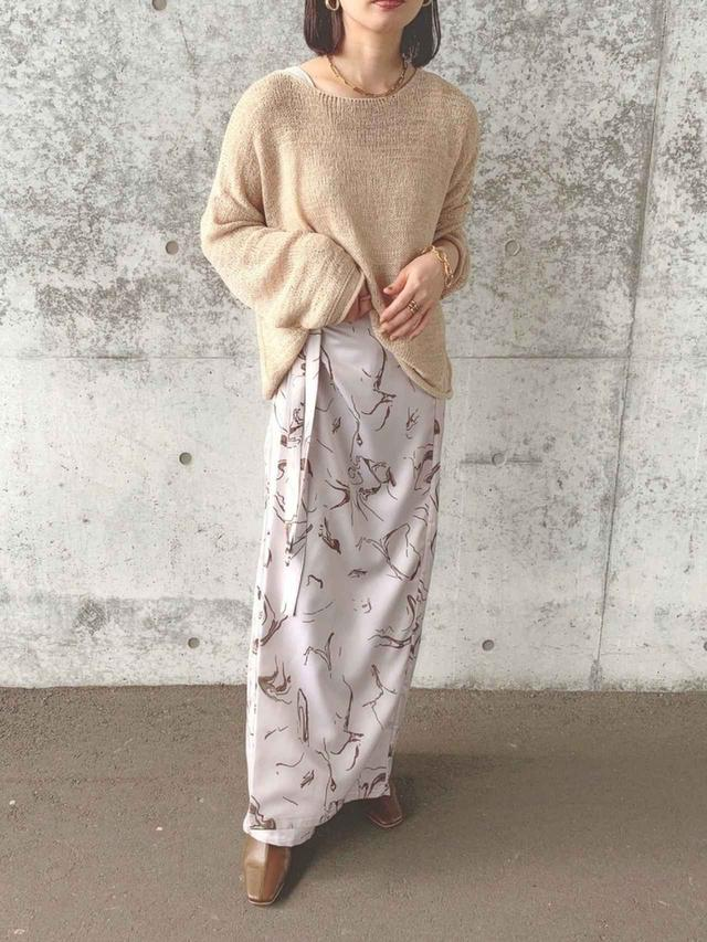 画像: 【WEARISTA son×INTER FACTORY】ラップパンツスカート¥5,940(税込) 出典:WEAR