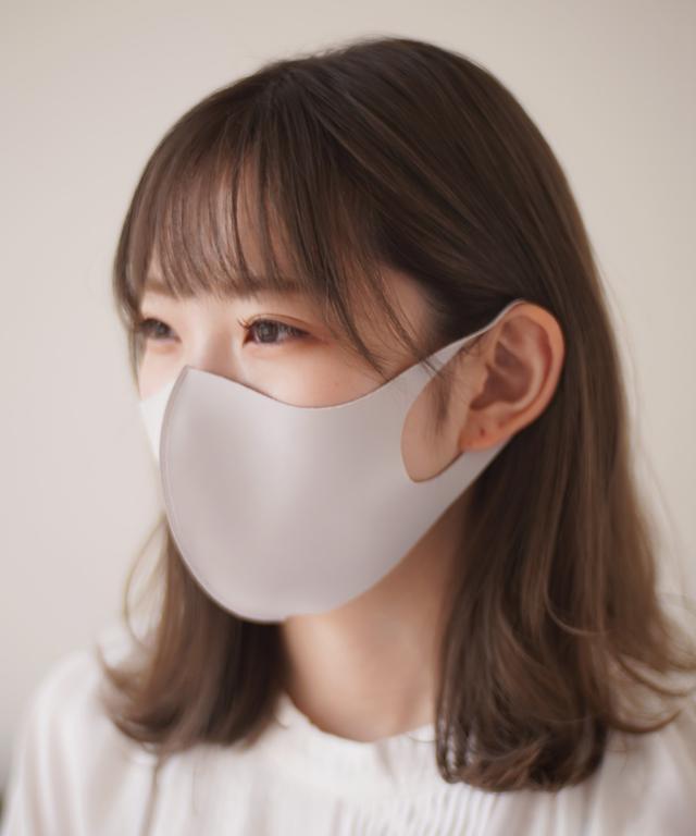 画像: 【Port】【シルキータッチ マスク】3枚セット 繰り返し使える シンプル マスク ¥870(税込) 出典:ZOZO