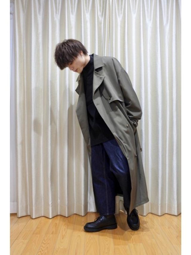 画像: 【EMMA CLOTHES】コート¥14,300(税込)【UNIQLO】デニムパンツ¥4,389(税込)【KLEMAN】シューズ¥20,350(税込) 出典:WEAR