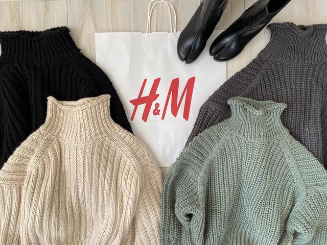 画像8: 【H&M】入店して即カゴへ!毎年大人気のチャンキーニットを買い足し!【コーデ】