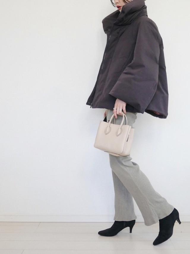 画像: 【UNIQLO】ダウン¥14,190(税込)【参考商品】パンツ ブーツ バッグ 出典:WEAR