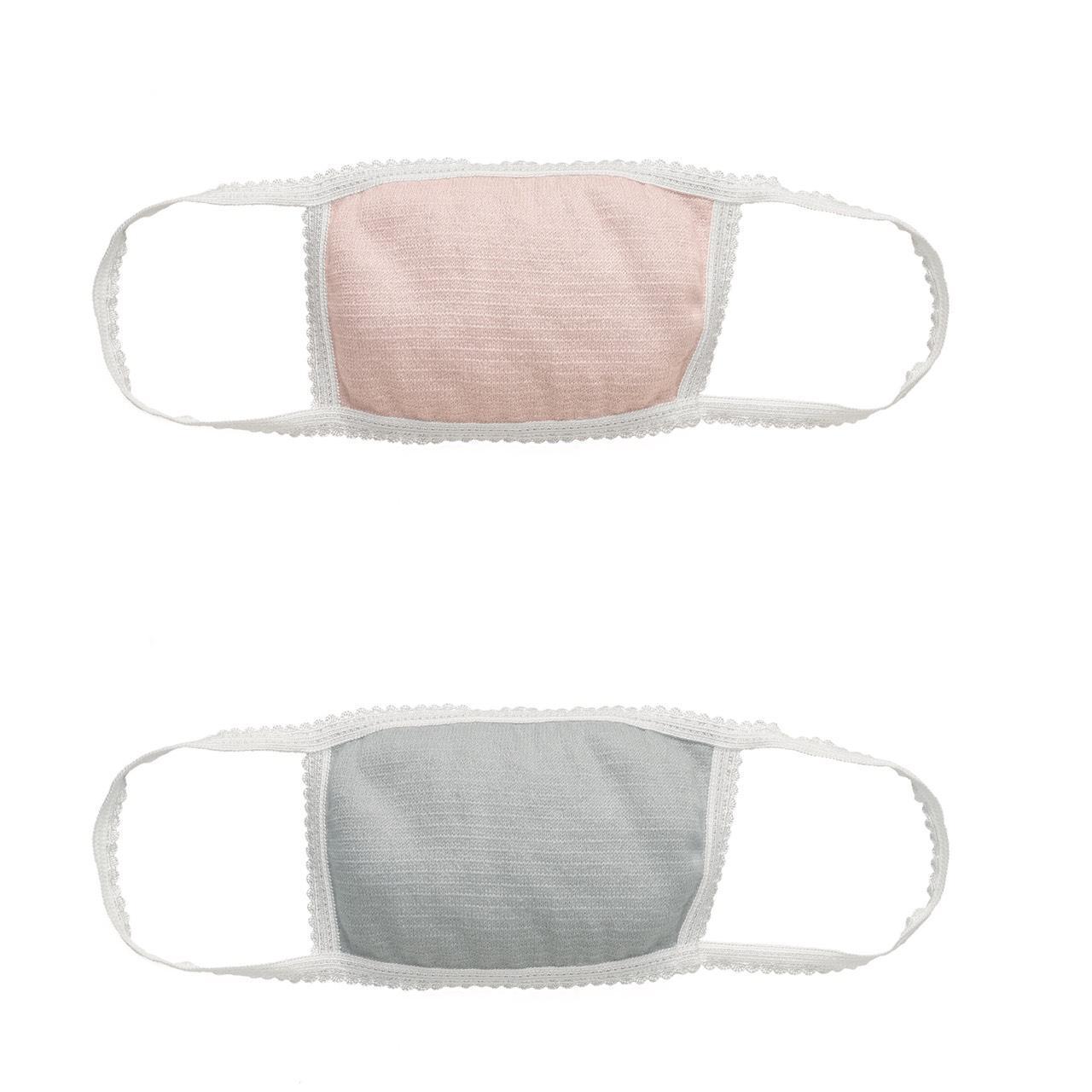 画像: マシュマロピンクとグレーの2色から選んで