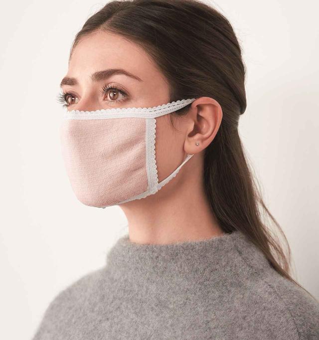 画像: 「肌側シルクパイルマスク」¥1,320(税込)