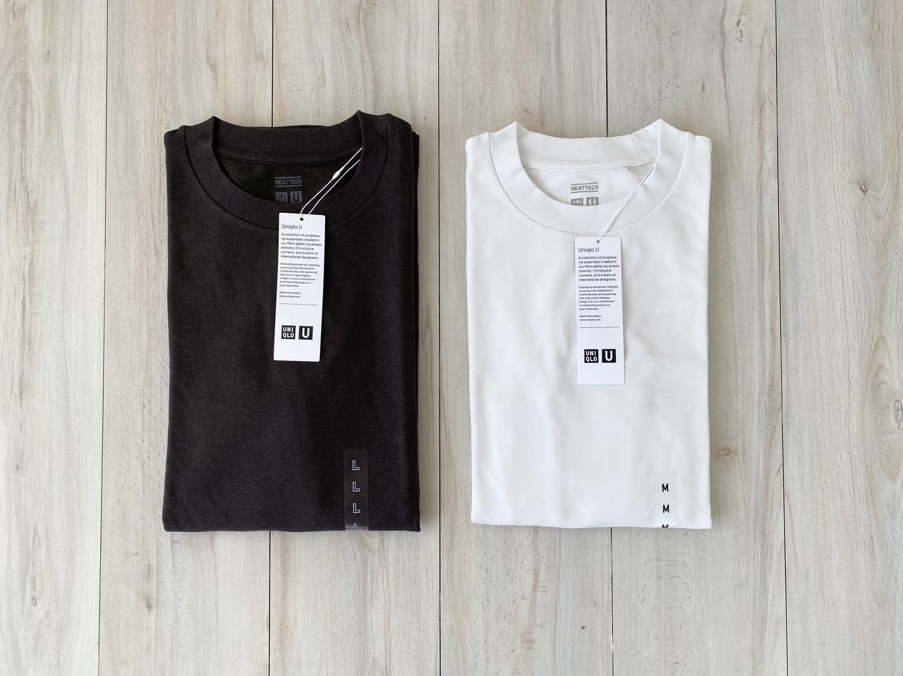 画像2: 【ユニクロ】感謝祭で今話題のヒートテックTシャツを購入!生地やサイズ感は?どうやって着る?【レビュー】