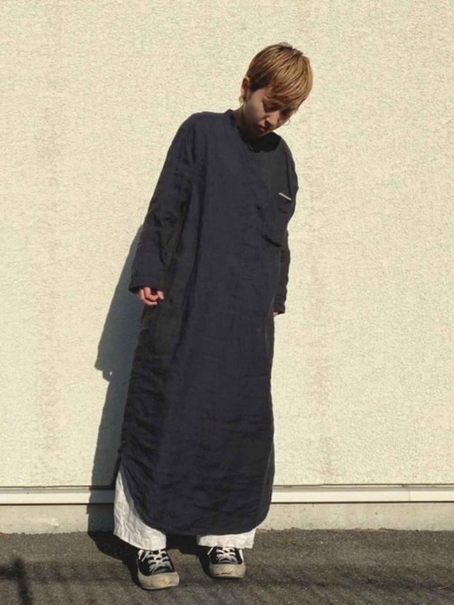 画像: 【無印良品】シャツワンピース平均価格 ¥4,000~ 出典:WEAR