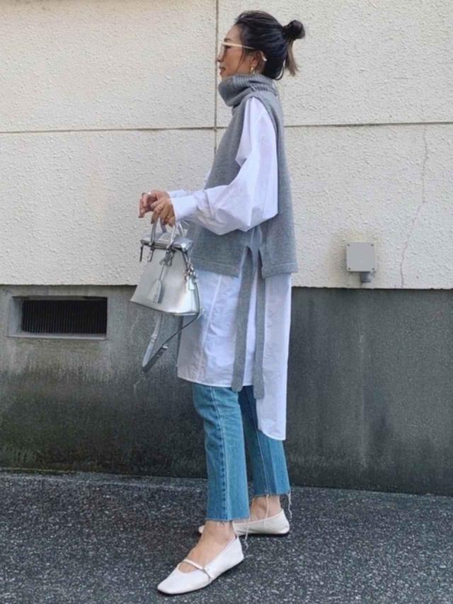 画像: 【SO】ベスト¥5,390(税込)【参考商品】シャツ デニムパンツ 靴 出典:WEAR