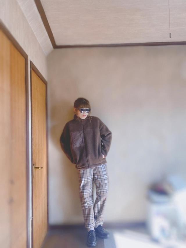 画像: 【GU】ブルゾン¥1,639(税込)【参考商品】パンツ¥1,639(税込) 出典:WEAR