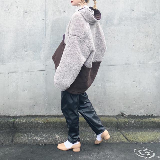 画像4: 【寒い日におすすめ!シティでのフリースの着こなし】