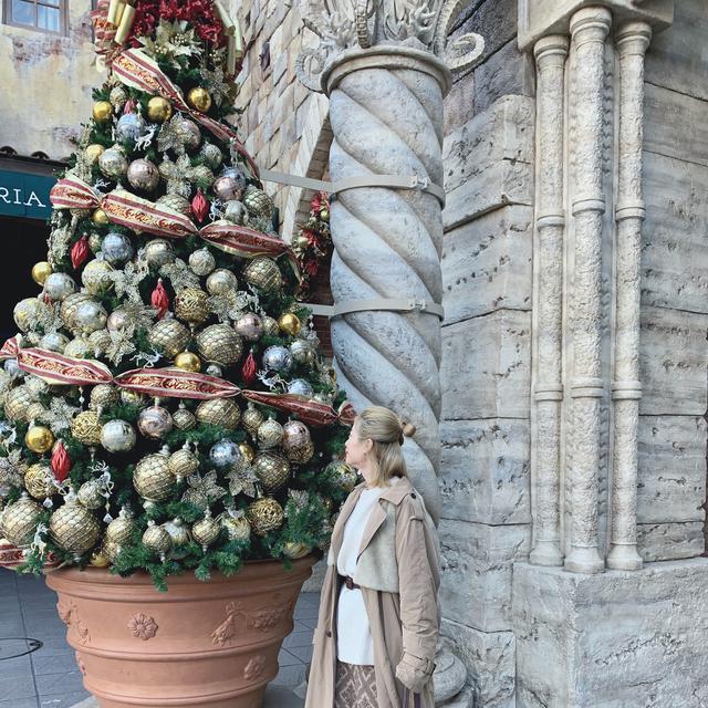 画像1: 【Christmasに着たい♪白ニットコーディネート★】