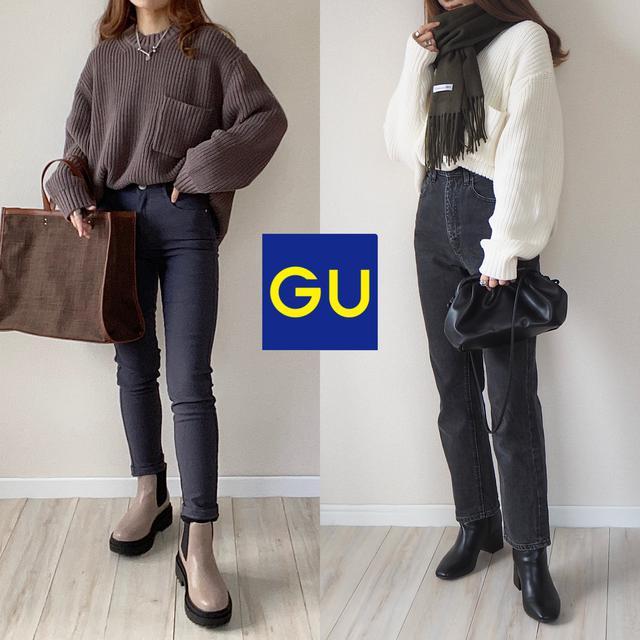 画像7: 【GU】待望の再入荷!人気すぎて争奪戦のメンズセーターで大人カジュアルコーデ2選