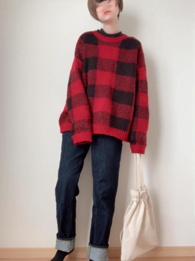 画像: 【H&M】ニット平均価格¥4,000~【GU】デニムパンツ¥2,739(税込) 出典:WEAR