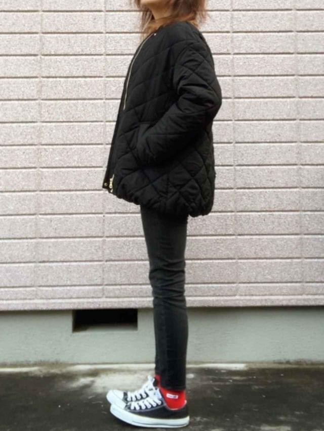 画像: 【GU】ブルゾン¥4,389(税込)【参考商品】デニムパンツ スニーカー 出典:WEAR
