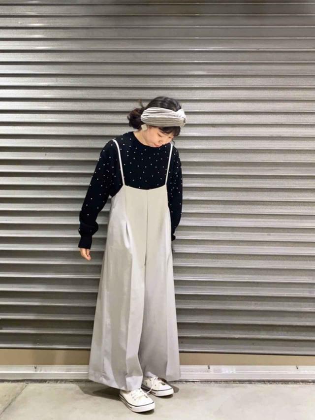 画像: 【Te chichi】ニット¥7,700(税込)パンツ¥9,350(税込) 出典:WEAR