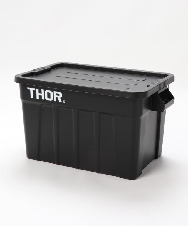 画像: 【Detail】Thor/ ソー Large Totes With Lid 75L¥6,050(税込) 出典:ZOZOTOWN