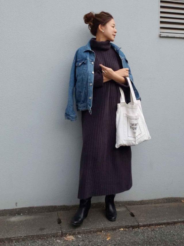 画像: 【ZARA】ワンピース平均価格¥6,000~【RODE SKO】ブーツ¥12,100(税込) 出典:WEAR