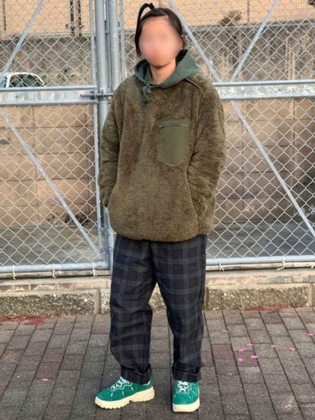 画像: 【UNIQLO】フリース¥2,189(税込)【参考商品】パンツ パーカー スニーカー 出典:WEAR