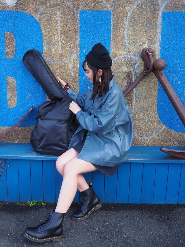 画像: 【2PINK】ジャケット平均価格¥2,954~【WEGO】ニット帽¥1,099(税込)【Dr.Martens】シューズ¥26,400(税込) 出典:WEAR