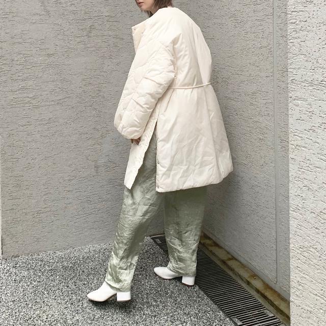 画像2: 注目のサスティナブル素材 CASA FLINE 中綿コート★