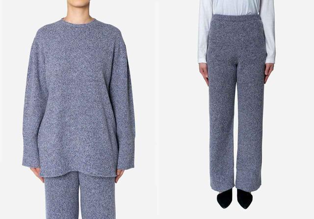 画像: 【ベッドアンドブレックファスト】トップス¥27,500 パンツ¥28,600(ともに税込) 出典:fashion trend news