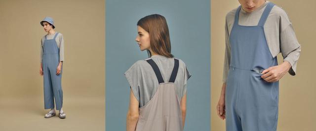 画像: 撥水エプロンサロペット¥7,590(税込) 出典:fashion trend news