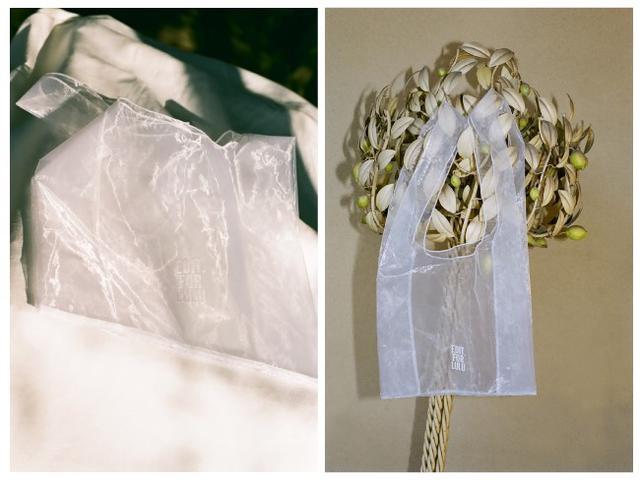 画像: 購入者にもれなくプレゼントされるオーガンジーのバッグ 出典:エディット フォー ルル