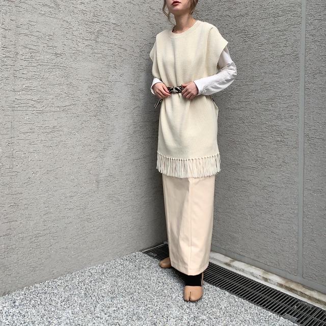 画像3: 【プチプラなのに高見え♪レザースカートの淡色着回しコーデ!】