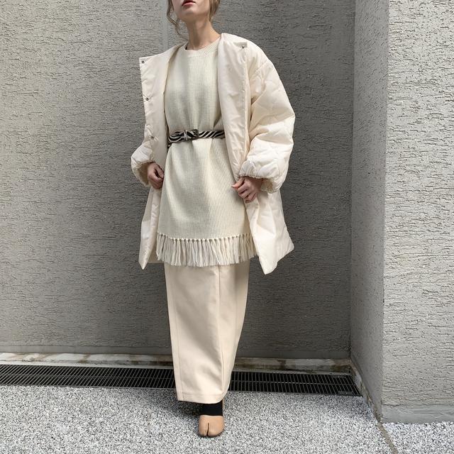 画像4: 【プチプラなのに高見え♪レザースカートの淡色着回しコーデ!】