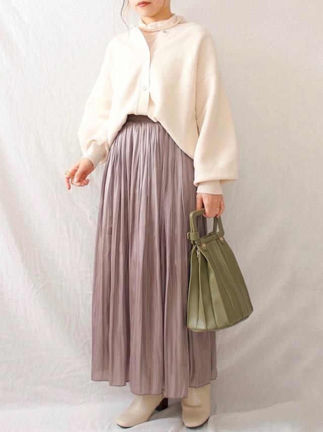 画像: スカートとバッグもしまむらです♡ 出典:WEAR