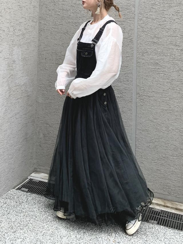 画像3: 【春に着たい!万能なシアーシャツ コーデ★】