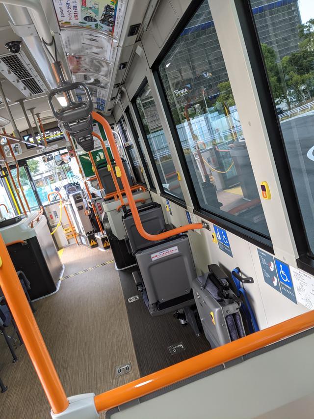 画像6: 東京BRTに乗ってみた!