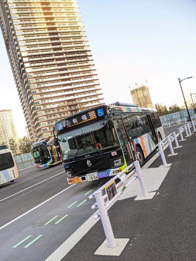画像5: 東京BRTに乗ってみた!