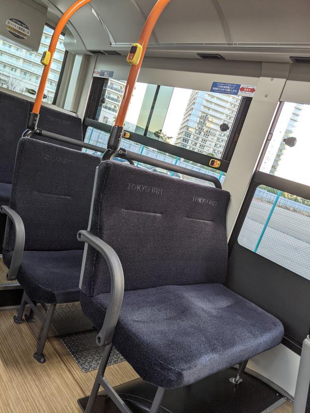 画像7: 東京BRTに乗ってみた!
