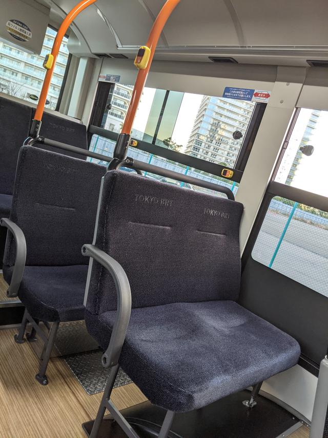 画像8: 東京BRTに乗ってみた!