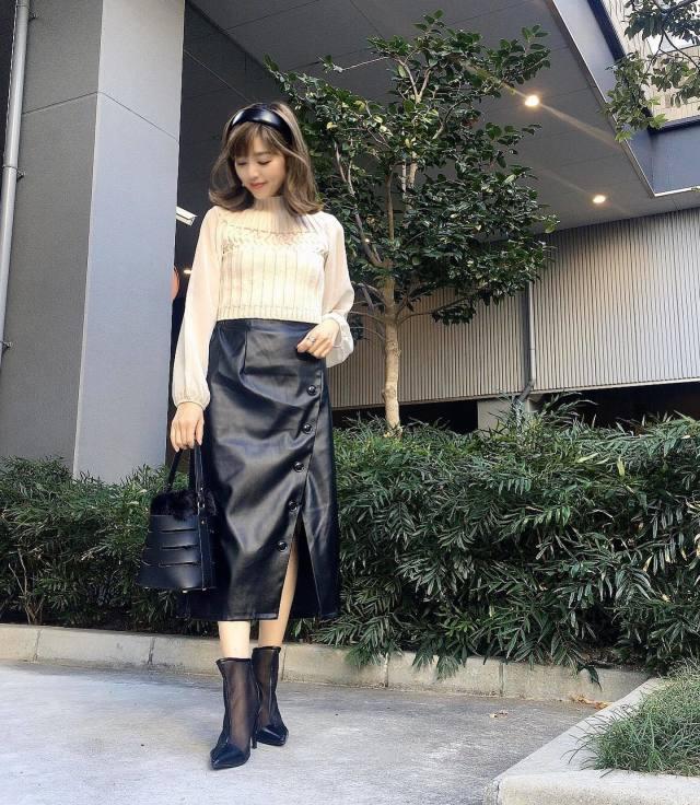 画像: 【しまむら】スカート 出典:#CBK