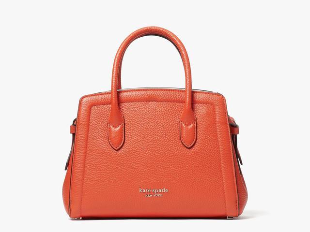画像: 「knott mini satchel」[縦16×横21.5×マチ9cm]¥46,200 出典:ケイト・スペード ニューヨーク